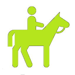 horseback_riding_icon_2 green