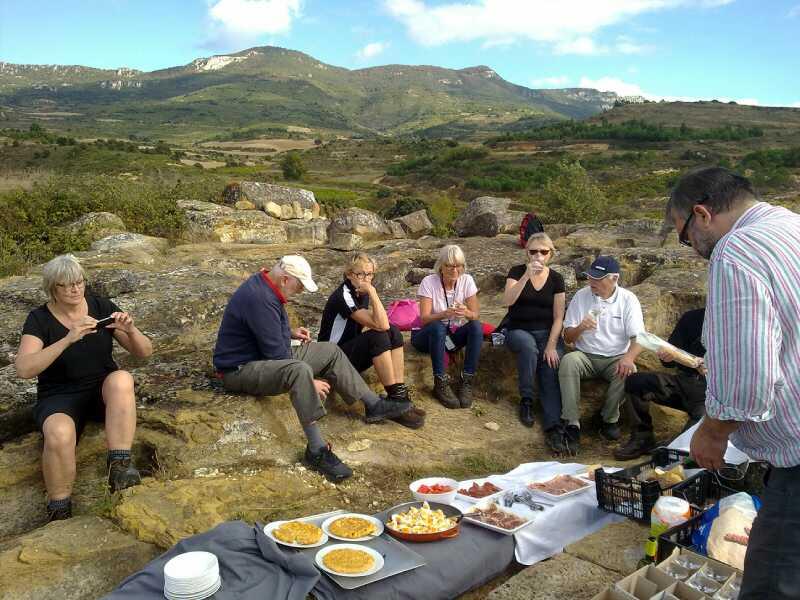 Picnic in La Rioja