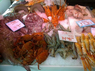 Seafood in La Brecha, San Sebastian / Donostia Photo Bonito Norte Viajes