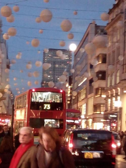 Oxford St. London Full Moon