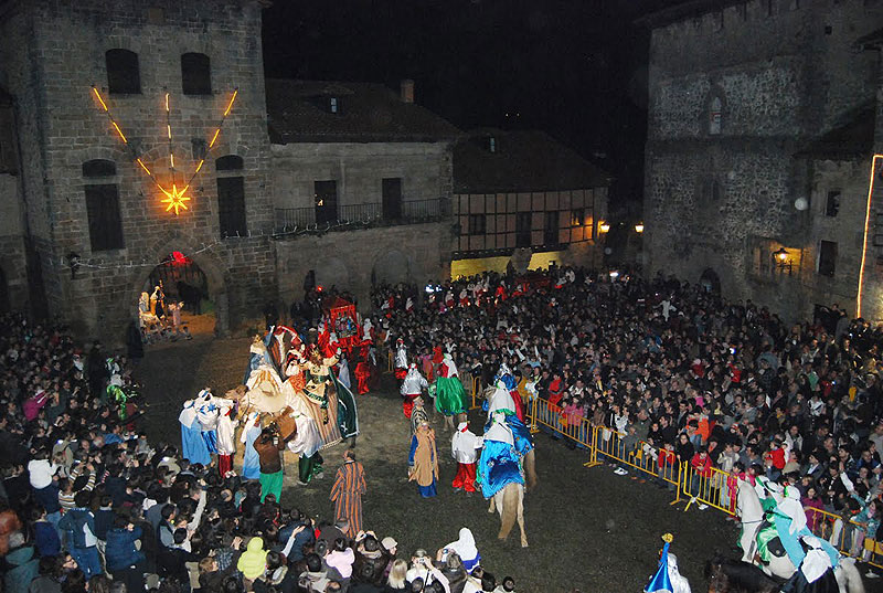 Cabalgata Reyes Santillana