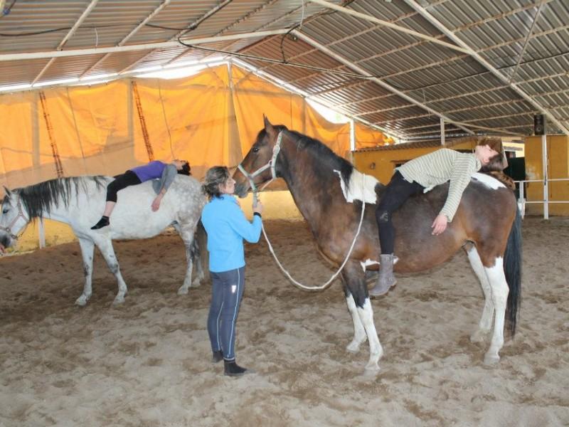 Yoga en caballo2