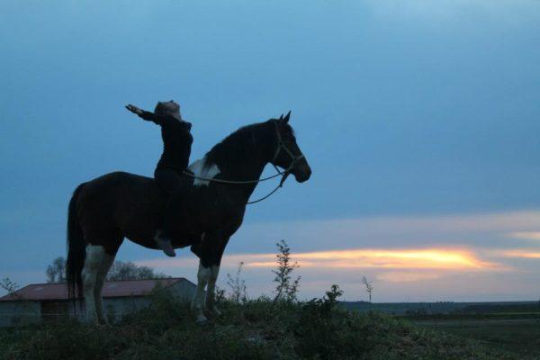yoga a caballo